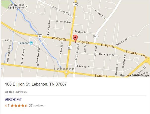 Iphone Repair Lebanon Tn